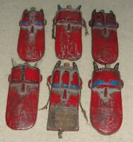 Toma Loma Landai Masque Old Red Mask Liberia Guinea African Art  Nice Collection