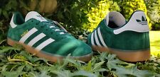 Adidas Originals Gazelle Fashion Trainers Green White  BNIBWT  UK 10.5   EU 45.3