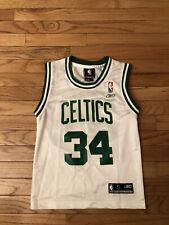Paul Pierce Boston Celtics NBA Reebok Jersey Youth Size S (8)