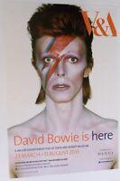 David Bowie Original V & A Exhibition 2013 Poster