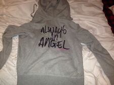 Victoria's Secret Gray Super Model Always An Angel Hoodie GUC L