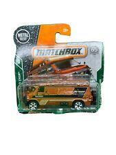 '95 Custom Chevy Van orange MBX ROAD TRIP MATCHBOX 1/64 DIECAST CAR