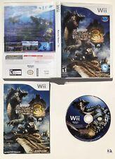 Monster Hunter Tri (Nintendo Wii, 2010) CIB