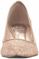 Adrianna Papell Womens Lois Leather Pointed Toe Classic Pumps, Blush, Size 7.0 5