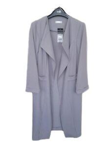 Ex wallis longline duster jacket 8-18