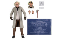 """NECA Ultimate Doc Brown Back To The Future 7"""" Action Figure"""