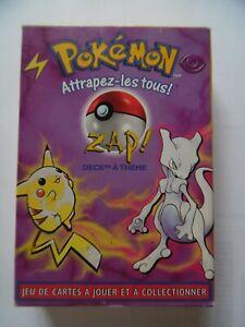Deck Pokemon ancien 1999 : ZAP ! - base set theme zap! - RARE