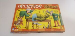 Operation Shrek Board Game 2004 Edition Milton Bradley - Works!