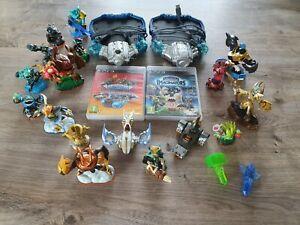 Jeux Skylanders Superchargers et Imaginators (PS3) + 19 figurines