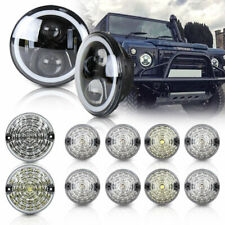 Land Rover Defender 90 110 Led Style Headlight Rear Front Lights 12pcs Led Lamp