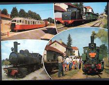 """TRAIN VELAY - VIVARAIS (43) TRAIN """"LA GALOCHE"""" en GARE animée"""