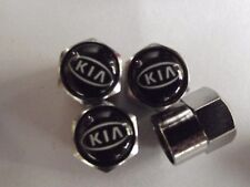 KIA LOGO .Valve Dust Caps SET OF 4