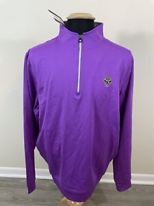 NEW NWT Men's Footjoy Performance Half Zip Pullover XL Shackamaxon Country Club