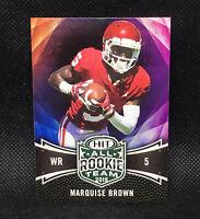 2019 Sage Hit Premier Draft All Rookie Team - Marquise Brown RC #136