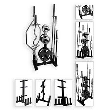 """BodyRip 2"""" Olympic Weight and Barbell Disc Plate Rack Stand Holder Tree Storage"""