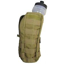 New Bulle MOLLE Webbing Tan Water Bottle Pouch and 750ml Sports Bottle