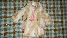#1493 barbie Vintage Barbie Mod Fab Fur 70's jacket skirt midge stacey