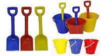 Bucket and Spade Set Beach sandpit Assorted Colours 1 - 24