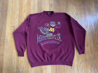Minnesota Golden Gophers Garment Graphics Vintage 90's Crewneck Fits Mens XL