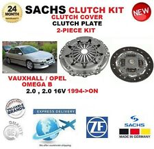 FOR VAUXHALL OPEL OMEGA B 2.0 1994-ON SACHS CLUTCH KIT 2-PIECE without BEARING