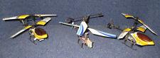 Konvolut Mini-Hubschrauber, Helikopter, mit verschraubten Metallrahmen, defekt