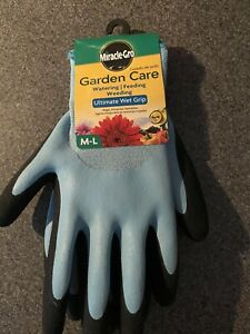 Miracle Gro garden care ultimate wet grip gloves size women's medium/large
