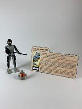 New listing 1983 G.i. Joe Seal Torpedo 100% Complete W/ File Card