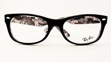 Ray Ban RB5184 5405 Black with Black Logo New Authentic 52