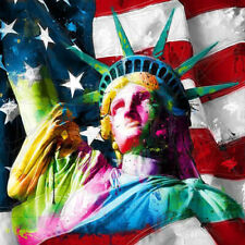 LIBERTY BY PATRICE MURCIANO ROCK SLATE ART PRINT