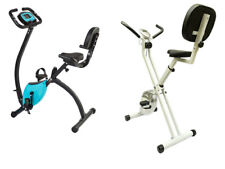 Styletics Bicicletta Fitness Cyclette Pieghevole Sensori Hometrainer x-Bike
