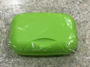 Travel Soap Dish Box Case Holder Container Wash Shower Home Bathroom STOCK