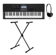 Casio CT-X800 Keyboard Set 61 Tasten Anfänger E-Piano Keyboardständer Kopfhörer