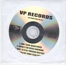 (EL606) Queen Ifrica / Beres Hammond etc, 4 track sampler - DJ CD