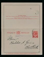 South West Africa 1915 Sa Kg5 1d Stationery Lettercard.Passed by Censor