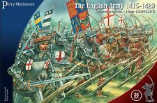 Perry Miniatures - Agincourt English Army 1415-1429 - 36 28mm Figures AO40