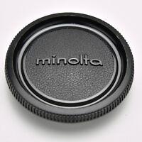 Genuine Minolta Black Camera Body Cap SR MC MD SRT XG XD (#3519)
