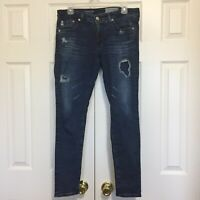 "Adriano Goldschmied Jeans Sz 29R Legging Ankle Super Skinny 36"" Long, 29"" inseam"