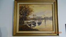 tableau huile sur toile marine signée Mayeuf