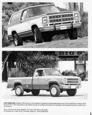 1979 Dodge Ramcharger and W200 Power Wagon Press Photo 0177