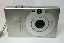 Canon PowerShot Digital ELPH SD1000 7.1MP Digital Camera - Silver. No Battery