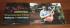 SANTANA POSTER SUPERNATURAL DOUBLE SIDED PROMO POSTER 9x20