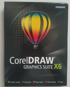 CorelDraw Graphics Suite X6 Guidebook Manual with Slipcover