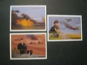 Sierra Leone War Movies 3 sets (each set has 3 sheets  MNH OG