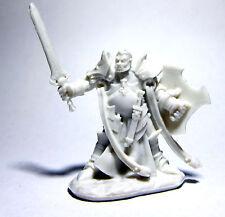 1 x JURDEN PALADIN DEMI ORC - BONES REAPER figurine miniature rpg d&d half 77438