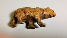Antique Wood Carving Brown Bear White Mountains New Hampshire