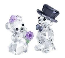 Swarovski Crystal Figurine Kris Bear You And I, Love Teddy Wedding Gift -1096736