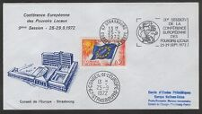 FRANCE CONSEIL DE L'EUROPE  CONFERENCE OF LOCAL AUTHORITIES FDC  STRASBOURG 1972