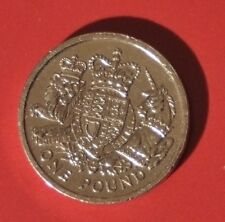 2015 £1 Pound Coin: Royal Coat Of Arms -