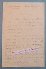L.A.S 1905 Albert SOULIER Faculté Sciences Montpellier Laboratoire ZOOLOGIE LAS