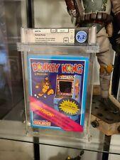 1982 Donkey Kong Coleco Intellivision Sealed Wata 9.2 Graded Video Game Mario